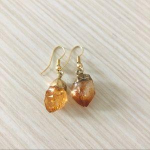 Natural Stone Earing